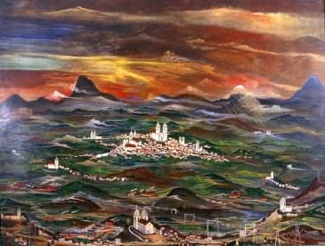 Paisagem Imaginária, 1947. Alberto da Veiga Guignard, 1947.