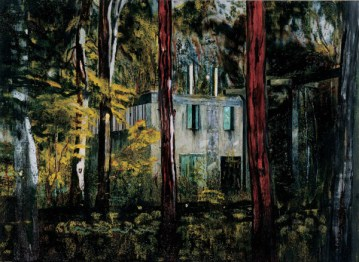 Peter Doig Boiler House 1994 Oil on canvas