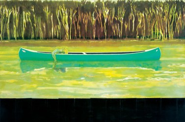Canoe-Lake 1997 Oil on Canvas 200 x 300cm