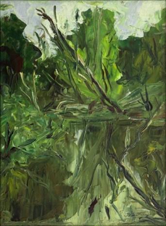 Iberê Camargo, Jaguari, 1941 óleo sobre tela 40 x 30 cm col. Maria Coussirat Camargo Fundação Iberê Camargo, Porto Alegre