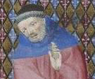 Old man with a little black hat c. 1410