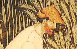 Beared man in a pointed cap, c. 1389