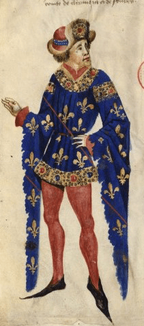 Duke in houppelande c. 1450