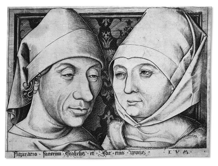 businessman & wife, c. 1490