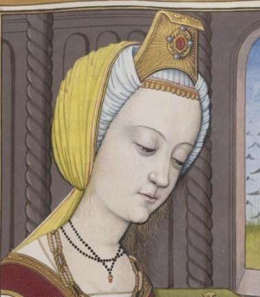 Turban with fancy jewlery, 1497
