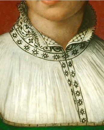 Beautiful neckline, c.1528-32