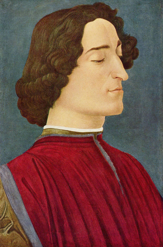 Long hair and high collar, 1478
