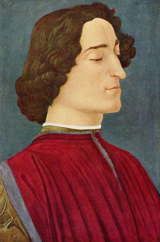 Long hair and high collar, 1478