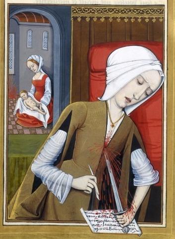 Surcote ouverte, c. 1496-1498
