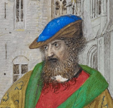 Older man with a beard, 1485-1490