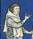 Shepherd in chaperon c. 1250