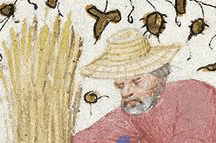 Straw hat c. 1425
