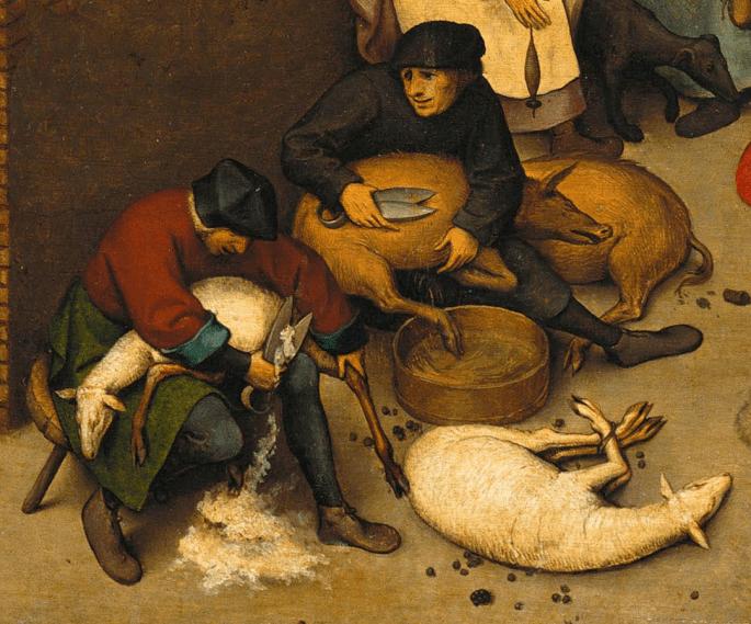 Notice the biretta, 1559