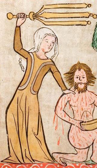 Hs 2505, German 1360 Speculum humanae salvationis