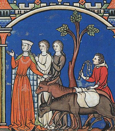 Bible of Morgan or Crusader bible ca 1250