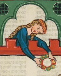 Cod. Pal. . Germ 848 Large Heidelberg Song Manuscript (Codex Manesse) - Zurich, about 1300 to about 1340