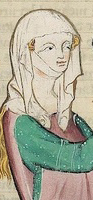 Veils and gorgets, Codex Manesse 1300-1340