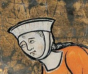 Barbette and fillet, c. 1280