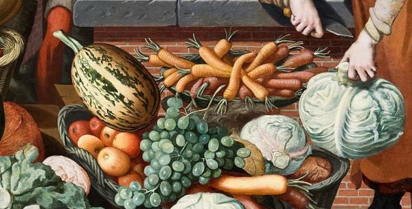 Market Scene, Pieter Aertsen,1569