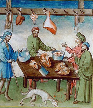 Albucasis, Tacuinum sanitatis, Allemagne (Rhénanie), XVe siècle Paris, BnF, département des Manuscrits, Latin 9333, fol. 75