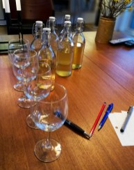 Wine tasting at the summer house