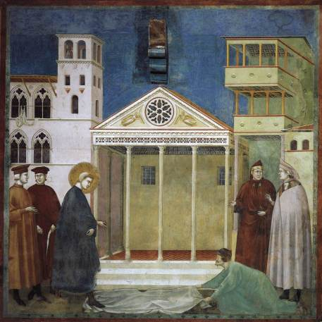 St. Francis Honoured By A Simple Man Giotto, 1300, Italy