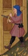Detail from the Bedford Hours c. 1410-1430