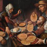 The Pancake Bakery by Pieter Aertsen 1560
