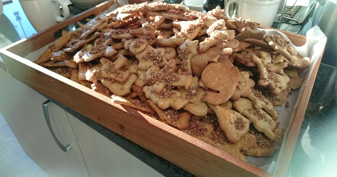 jewish christmas cookies - jødekager