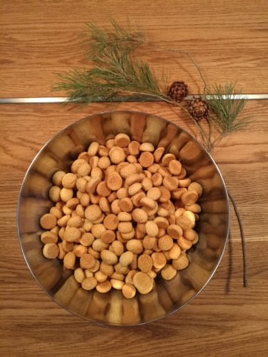 Peppernuts in a bowl