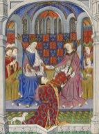 Margaret and Henry in the Talbot Shrewsbury Book. British Library Royal 15 E vi The Talbot Shrewsbury book. 1445