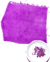 Cloth dyed with Tyrian purple. The color could vary from crimson to deep purple, depending upon the type of murex sea-snail and how it was made.