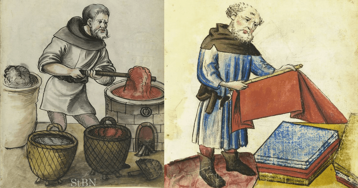 Medieval fabrics and the use of colour, part 2 Postej & Stews