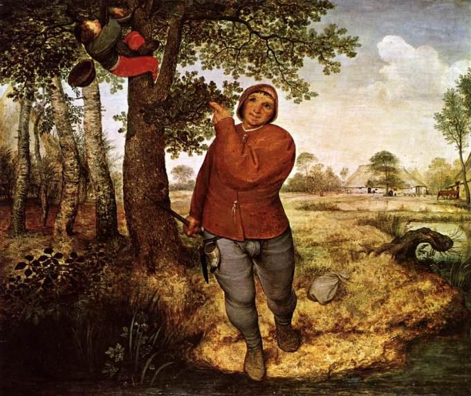 The Peasant And The Birdnester Pieter Bruegel the Elder, 1568