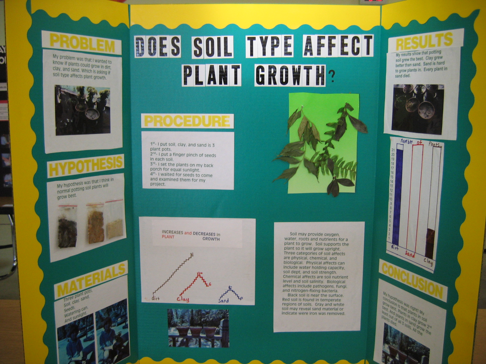 hight resolution of my science fair project