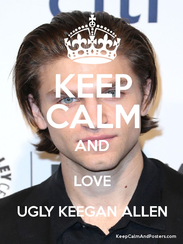 Keep Calm And Love Allen