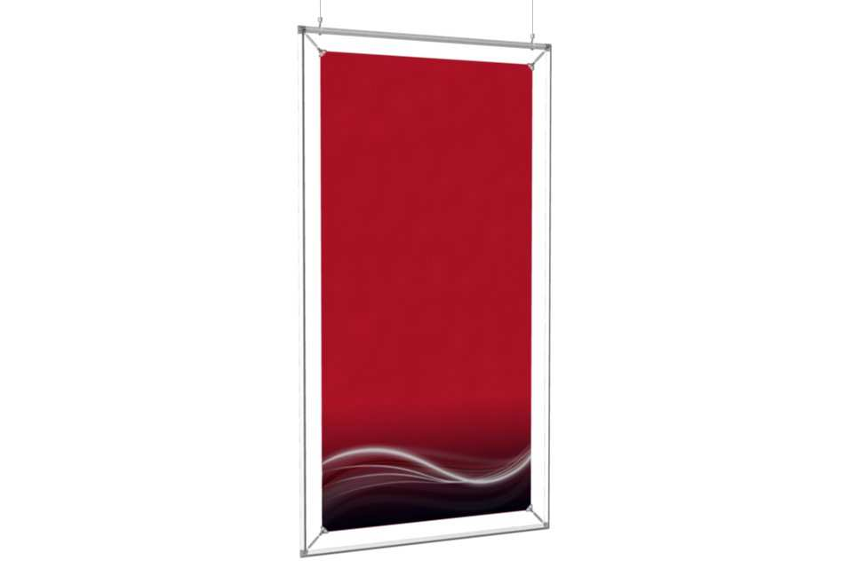 hanging poster frame to display a 24x48 poster