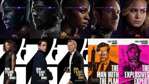 Character Series Movie Posters