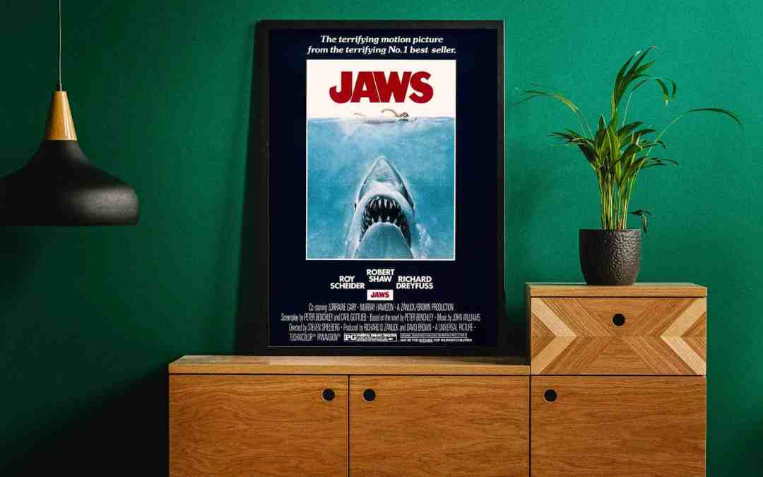 Jaws Iconic Poster