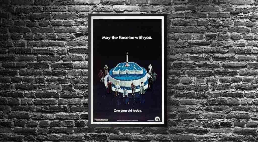 Star Wars Birthday Movie Poster