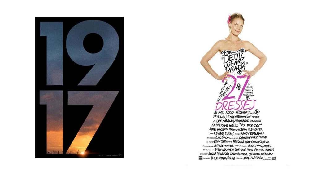 Typographic Movie Posters 06