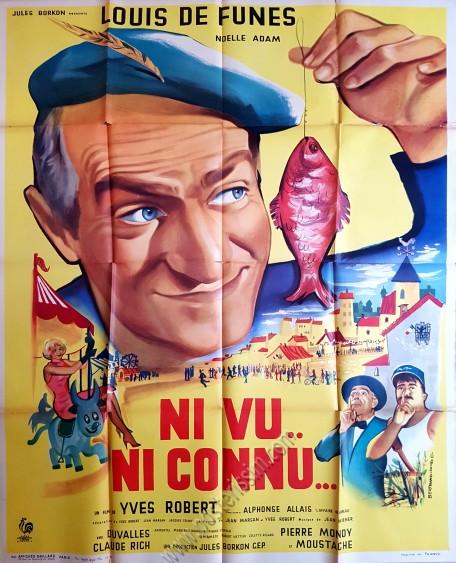 Ni Vu, Ni Connu : connu, Original, Poster, Connu-posterissim