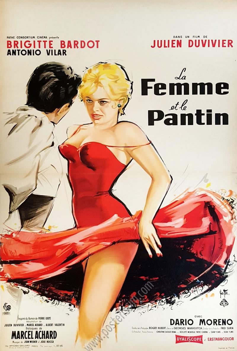 La Femme Et Le Pantin : femme, pantin, Femme, Pantin, Www.posterissim.com