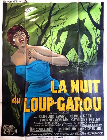 La Nuit Du Loup Garou : garou, Curse, Werewolf, Www.posterissim.com