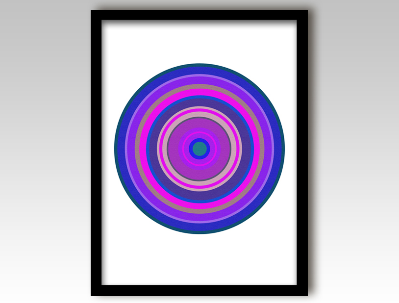 pop art target purple