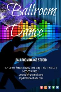 Customizable Design Templates for Ballroom | PosterMyWall