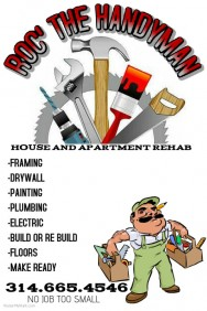 Customizable Design Templates For Handyman PosterMyWall