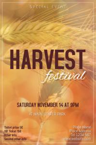 Free Fall Harvest Desktop Wallpaper Customizable Design Templates For Harvest Festival