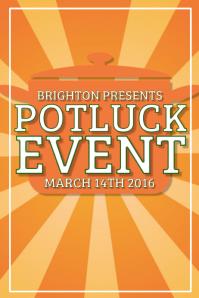 Customizable Design Templates for Potluck  PosterMyWall