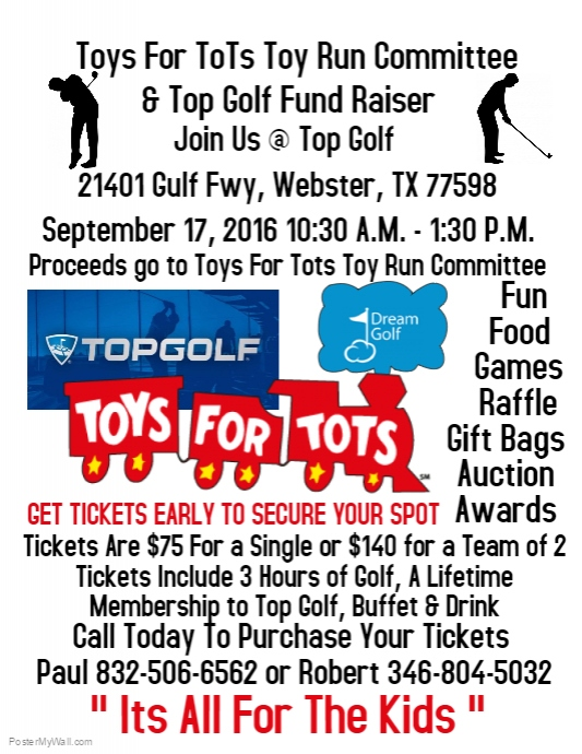 Toys For Tots Fundraiser Template Postermywall